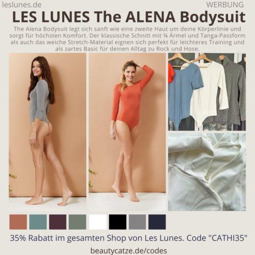 The ALENA BODYSUIT LES LUNES Erfahrungen Bewretung Passform Detail Fotos Farben