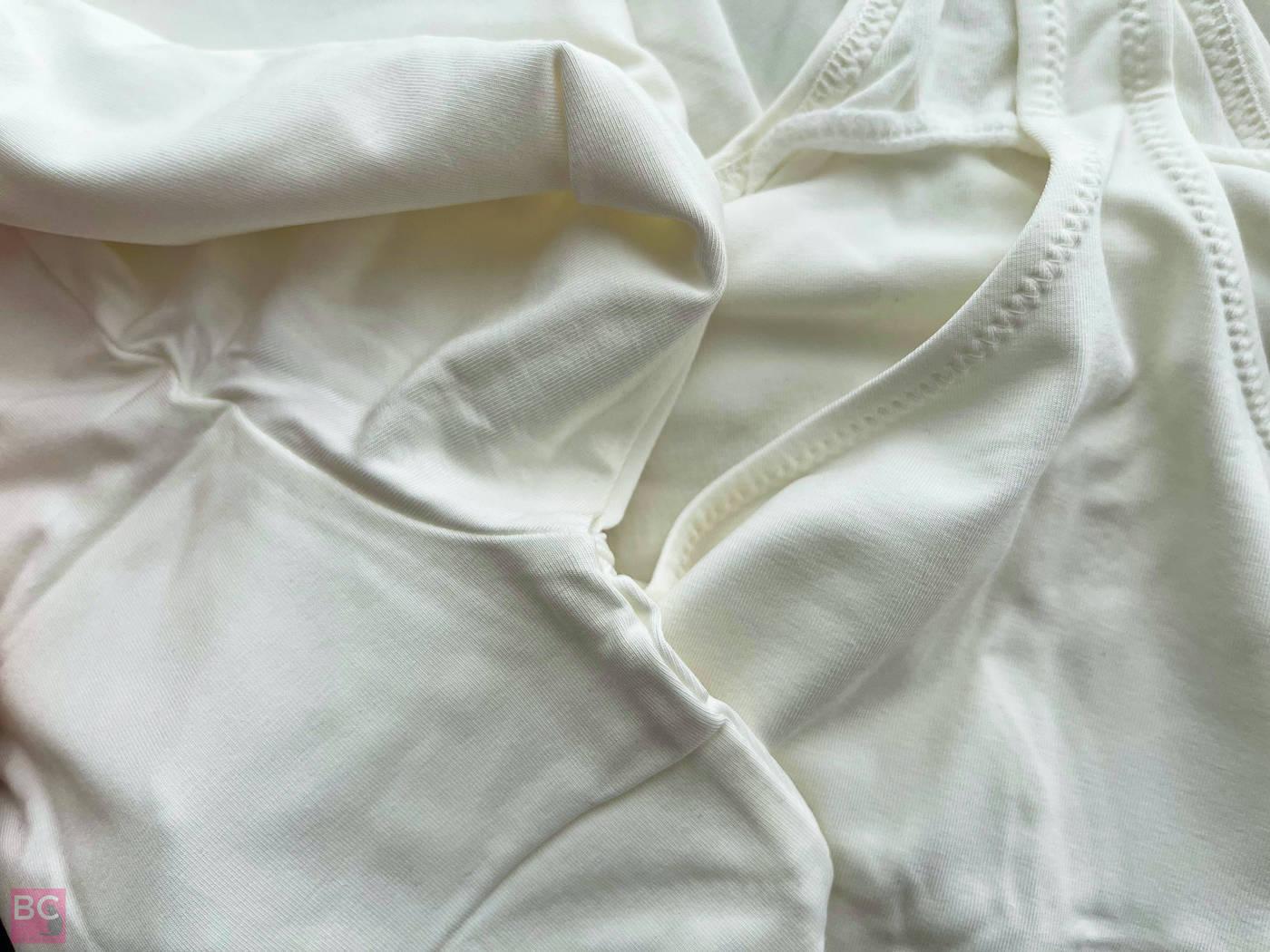 The ALENA Bodysuit Les Lunes ERFAHRUNGEN Details Nähte Verarbeitung Achsel