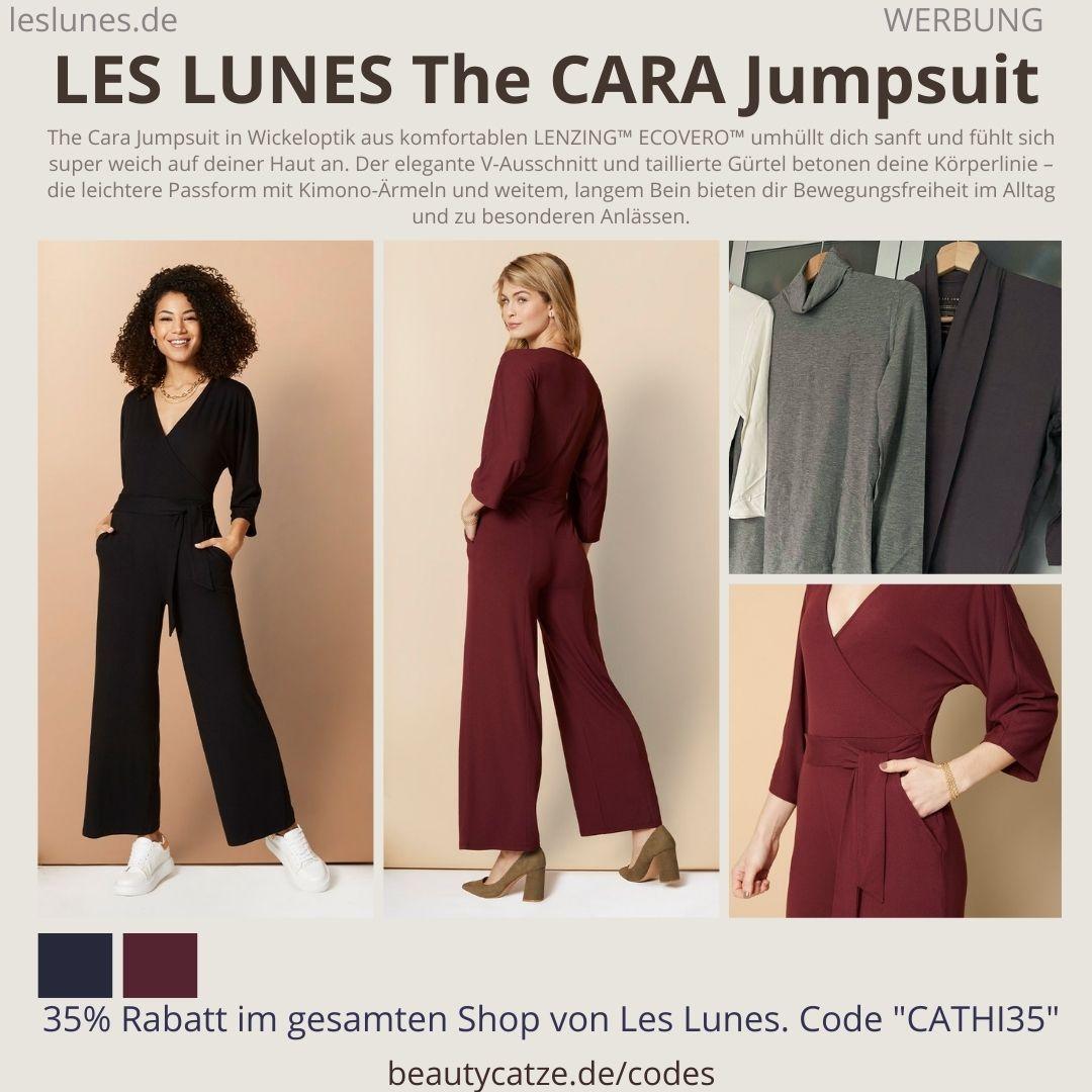 The CARA JUMPSUIT Farben Schnitt Größen Erfahrung LES LUNES Erfahrungen