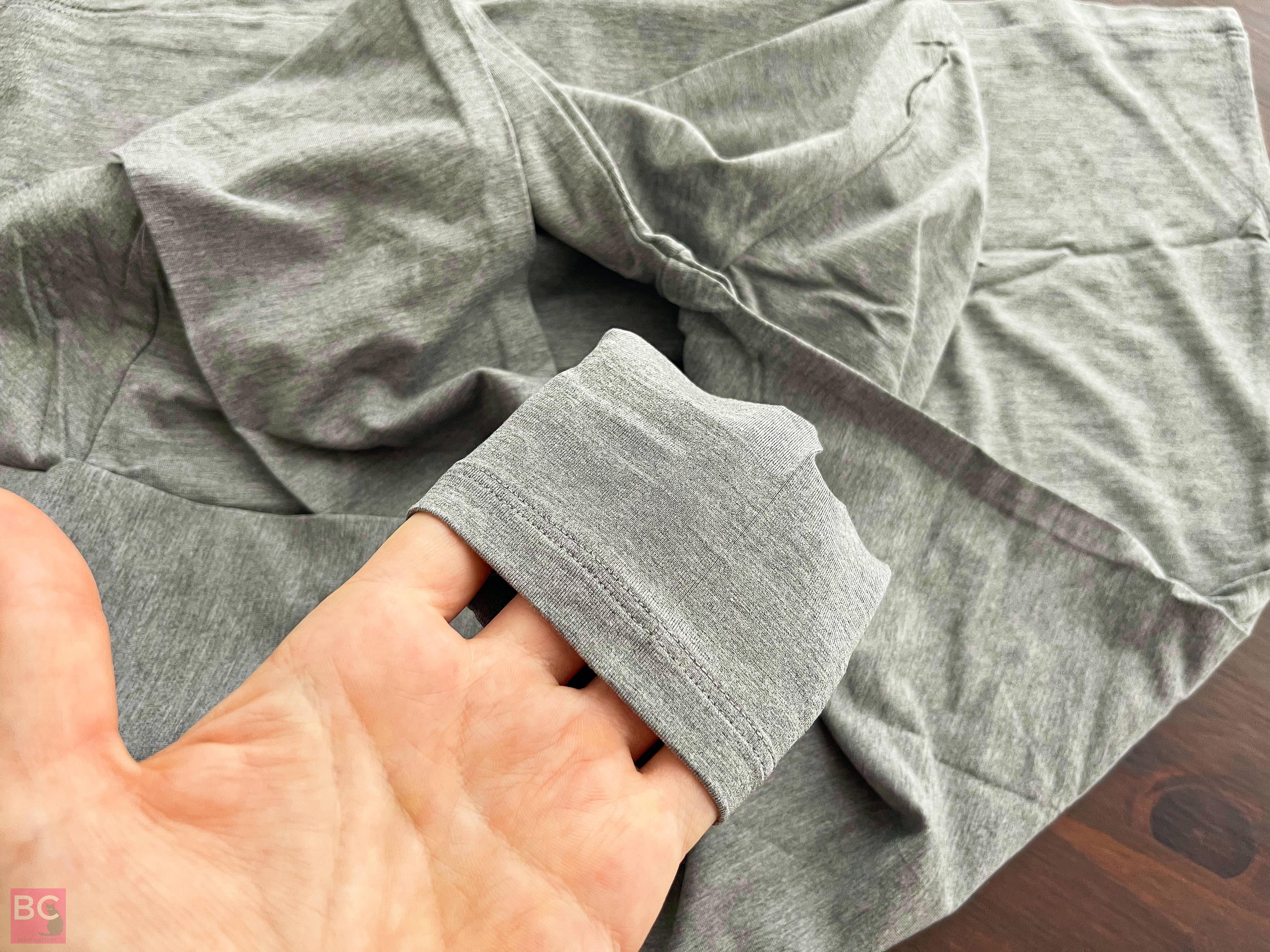 The Mia Shirt Les Lunes Erfahrungen Details Ärmel Nähte verarbeitet frisch ausgepackt