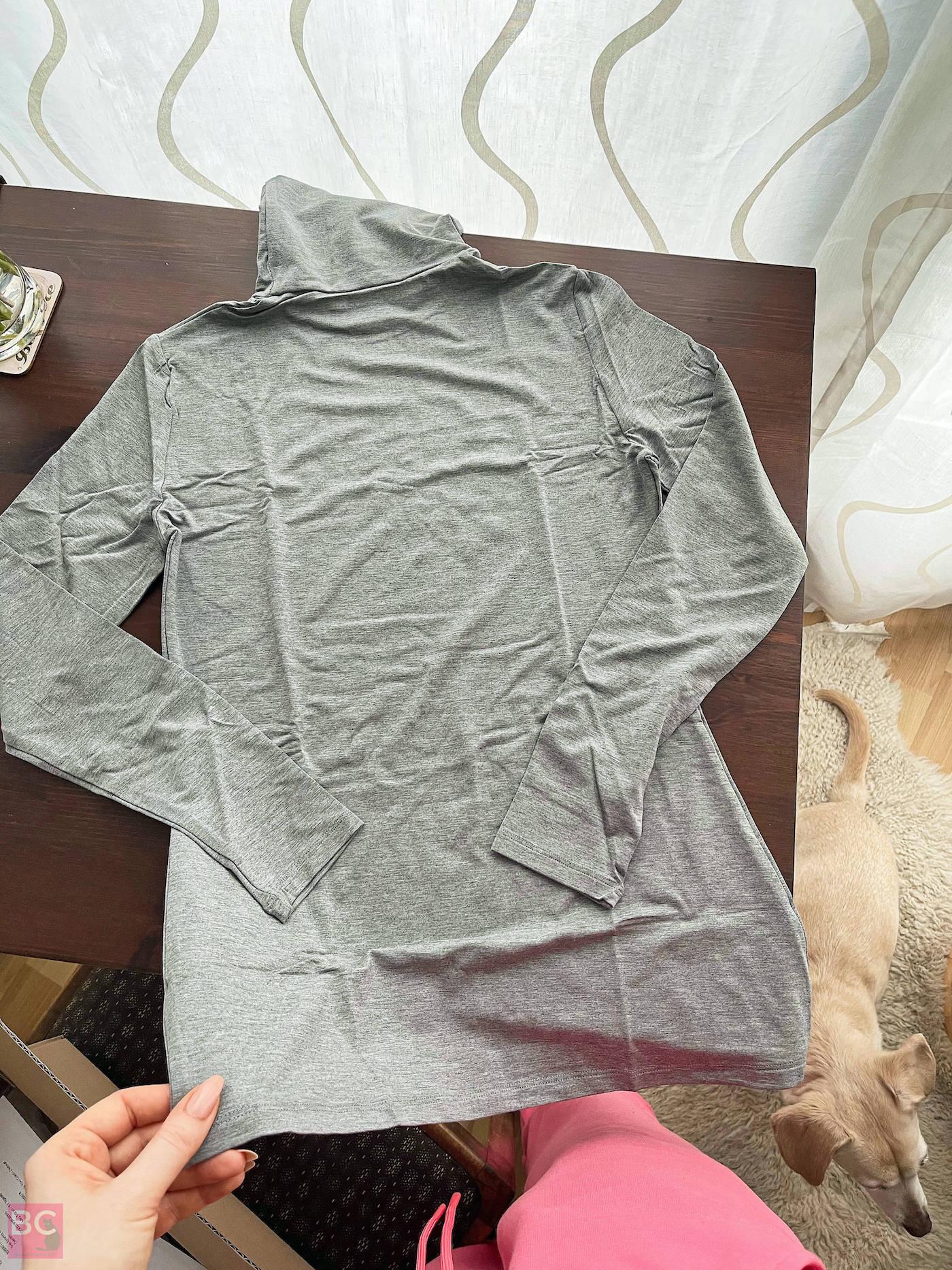 The Mia Shirt Les Lunes Erfahrungen vorne Frontansicht frisch ausgepackt