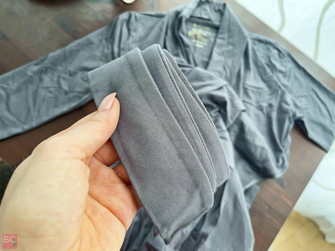 The Paul Jumpsuit Les Lunes Gürtel Bund Details Stoff Qualität Bambus Viskose