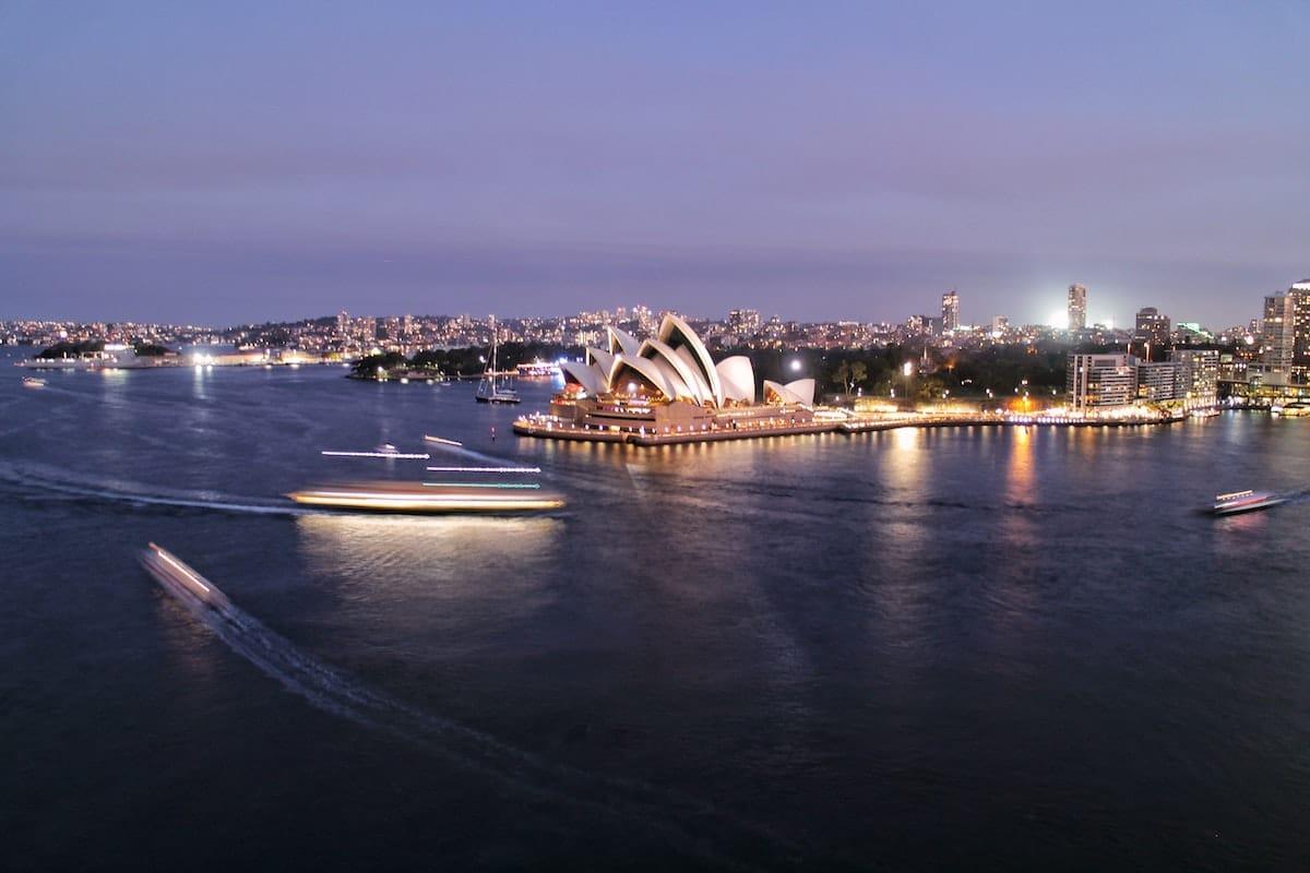typisch Sydney Betonkerze Museum Reiseerinnerung Idee