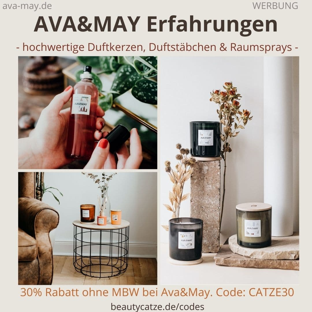 AVA and May Erfahrungen Duftkerzen Duftstäbchen Raumspray
