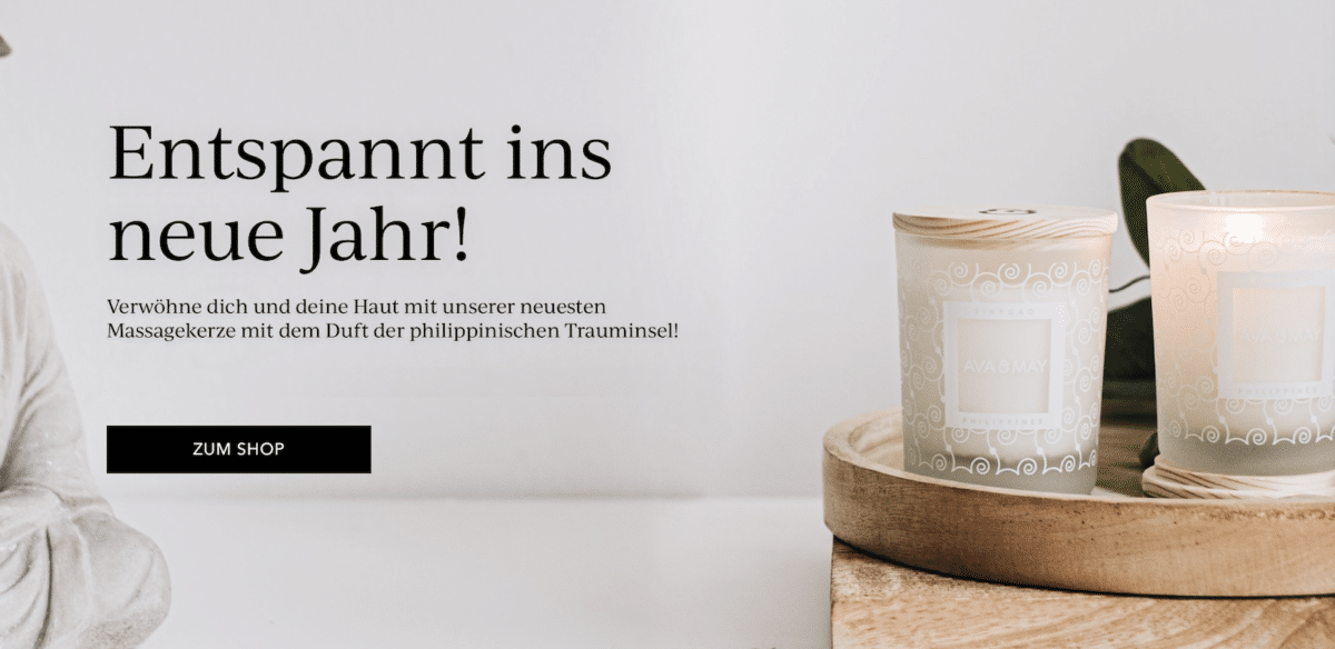 Ava and May Januar Wellness cozy Home Erfahrungen Duftkerzen