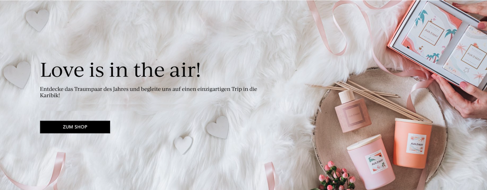 Ava and May Valentinstag Limited Editions Love is in the Air