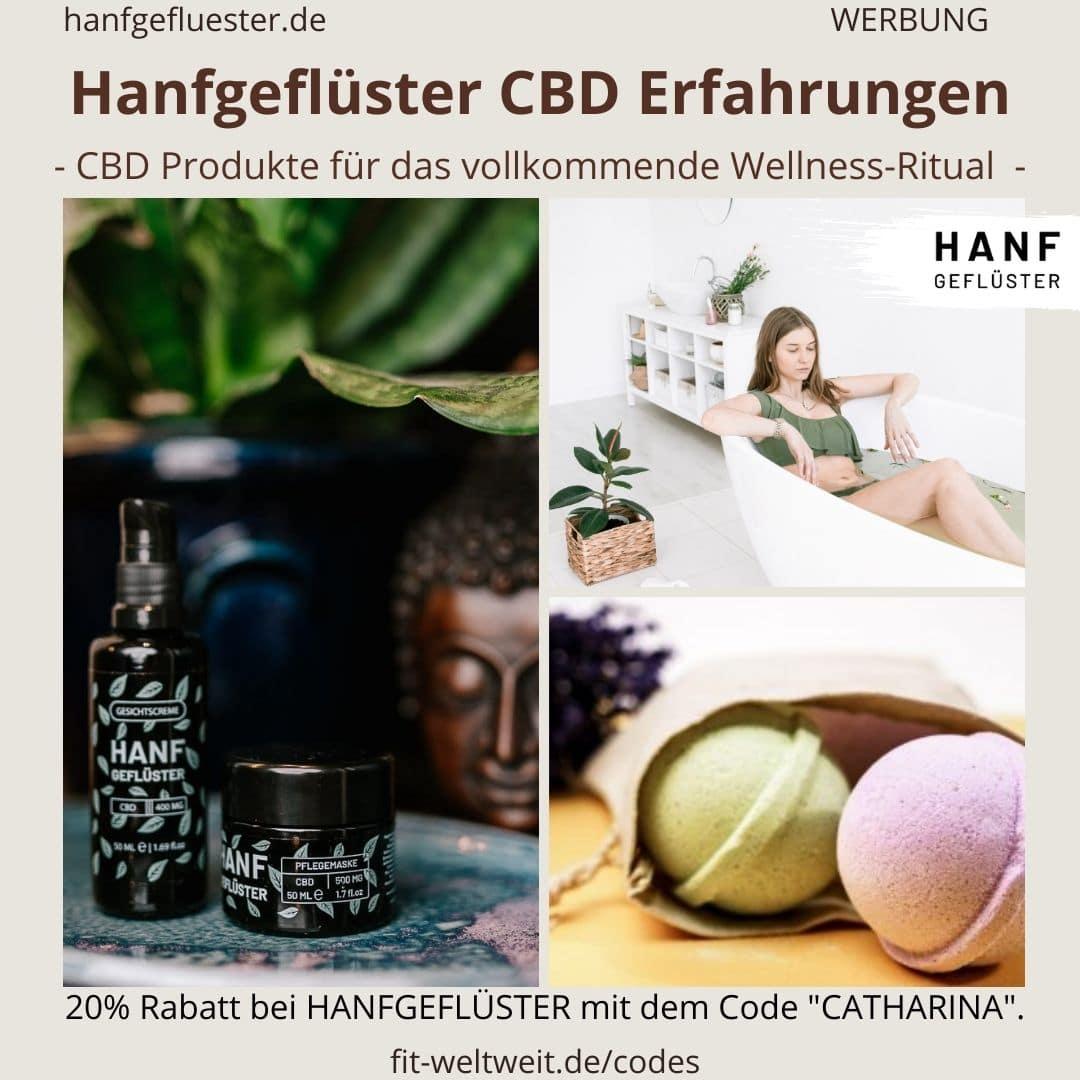 Detox Maske Hanfgeflüster CBD Produkte Wellness Erfahrungen Bewertung Anwendung