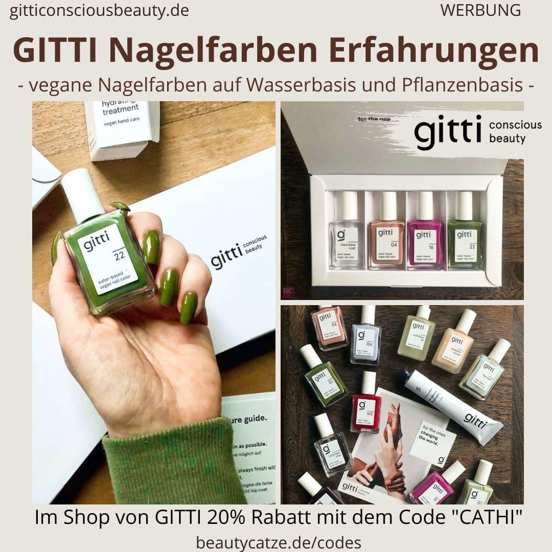 GITTI Nagelfarben Erfahrungen Anwendung Haltbarkeit alle Farben welche ist die Beste