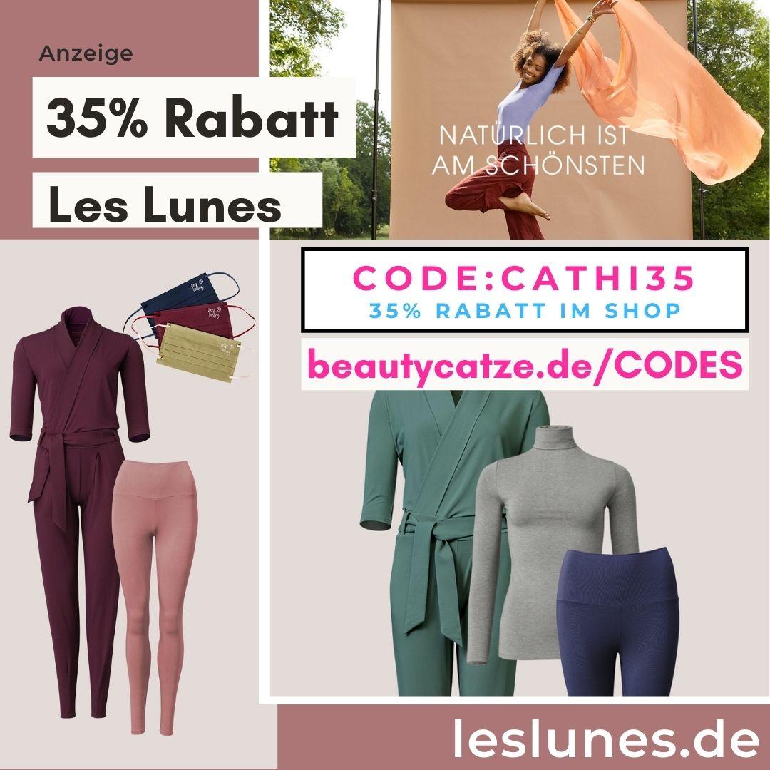 Les Lunes Code 35% Rabatt Gutscheincode einlösen 50% 2021