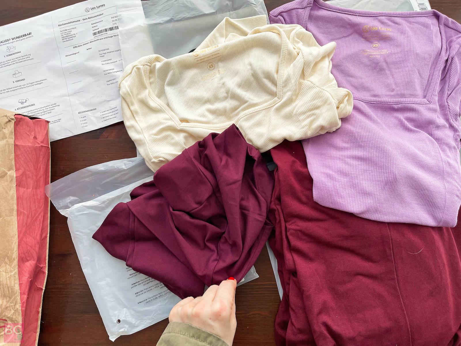 Abby Longsleeve oatmilk lilac high waisted leggings cara jumpsuit