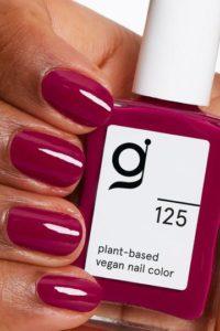 Erfahrungen Magentarot GITTI no 125 pflanzenbasiert langanhaltend Nagelfarben