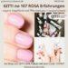 GITTI no 107 ROSA pflanzenbasiert langanhaltend Nagelfarben Erfahrungen Nagellack