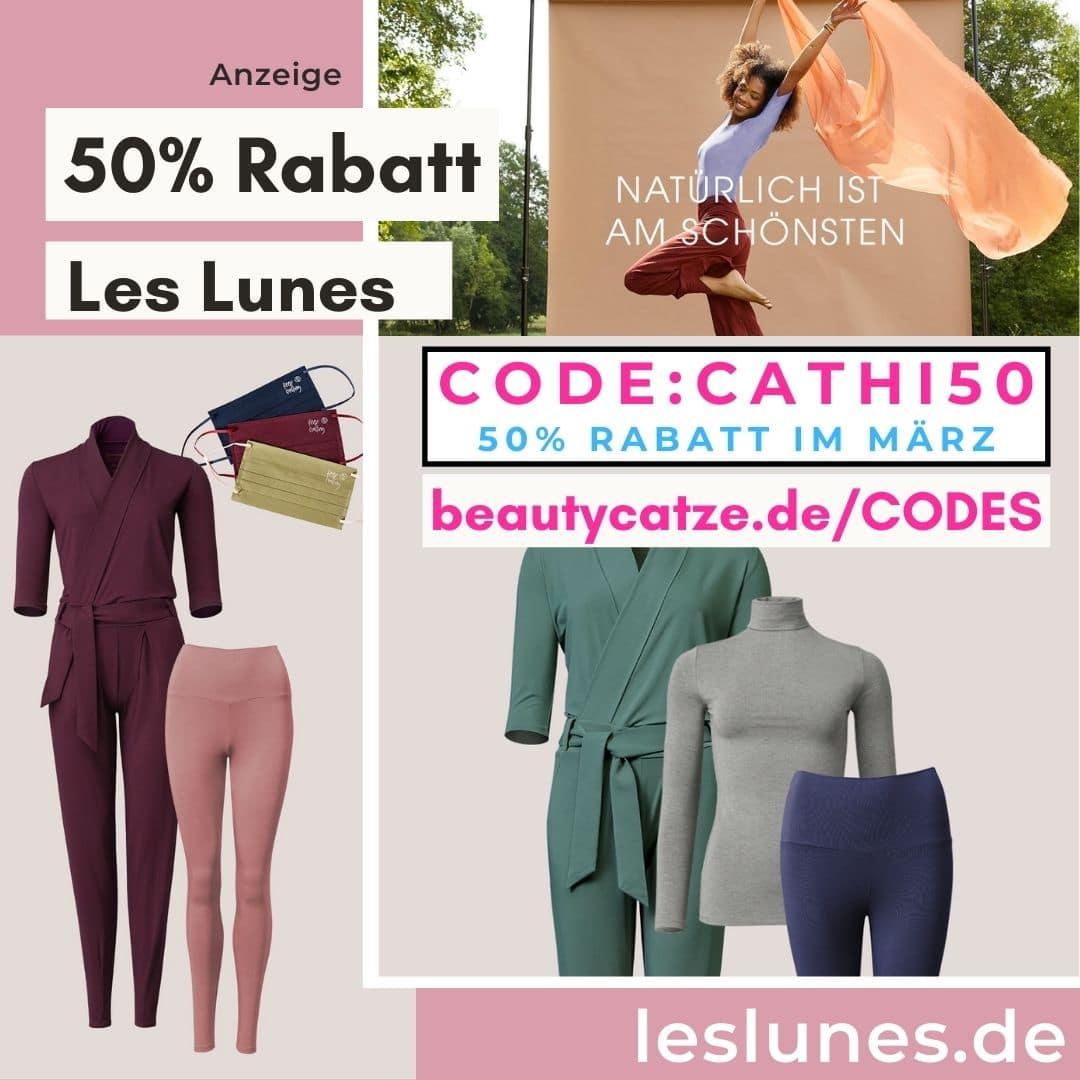 LES LUNES CODES 50% Rabatt im März Gutschein