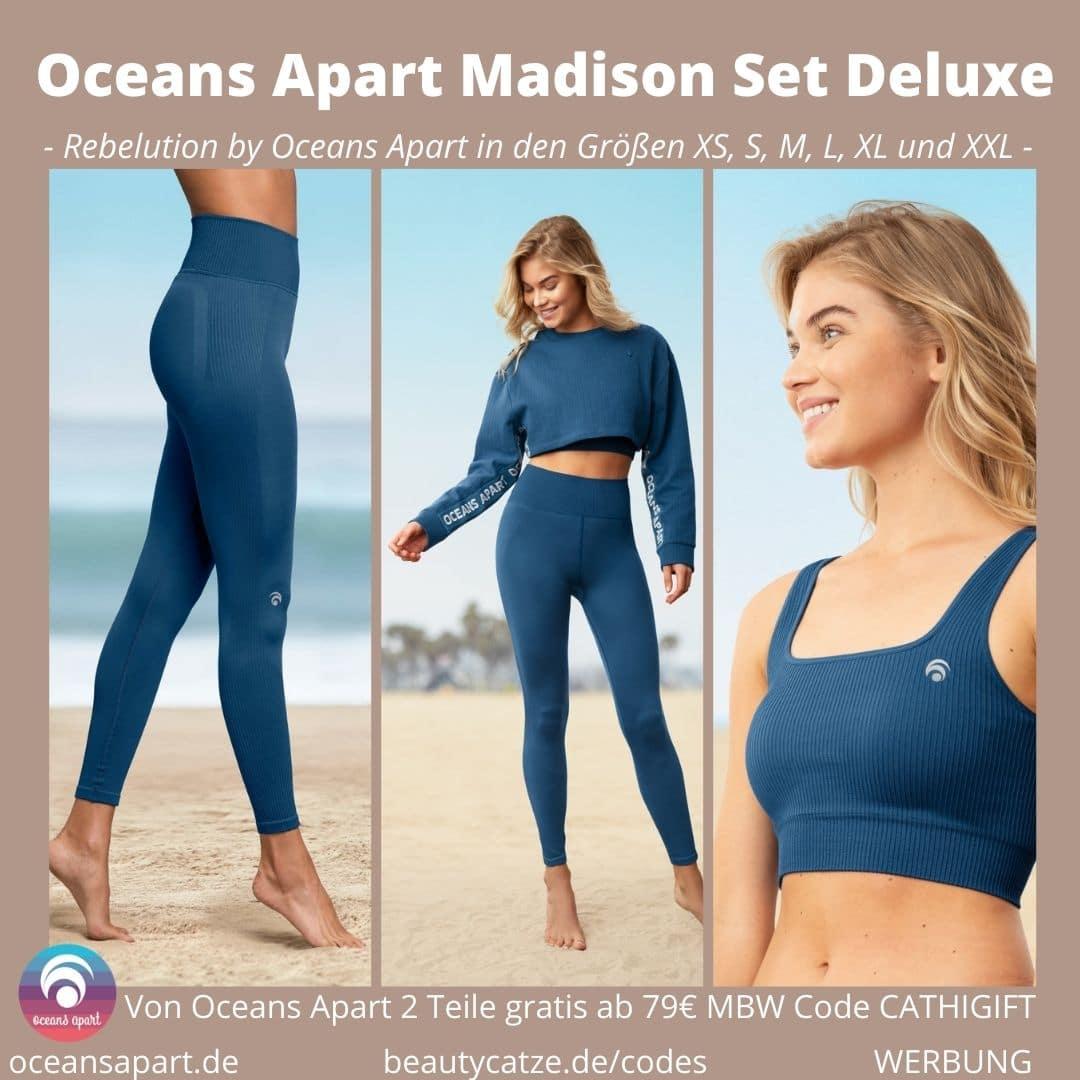 Oceans Apart Madison Set Deluxe Erfahrungen Pant Bra Sweater Bewertung Größe Stoff