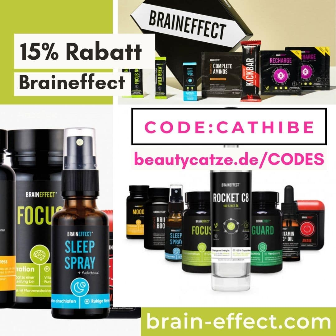Braineffect Code 2021 15% Rabatt auf alles 20% Rabattcode