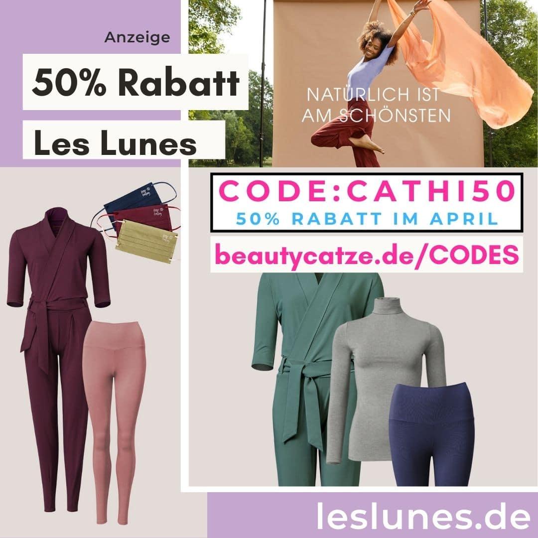 50% Rabatt bei Les Lunes Gutscheincode April 2021
