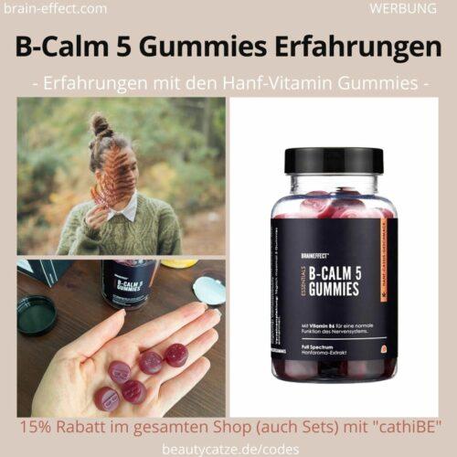 BRAINEFFECT ERFAHRUNGEN B Calm 5 Gummies Anwendung