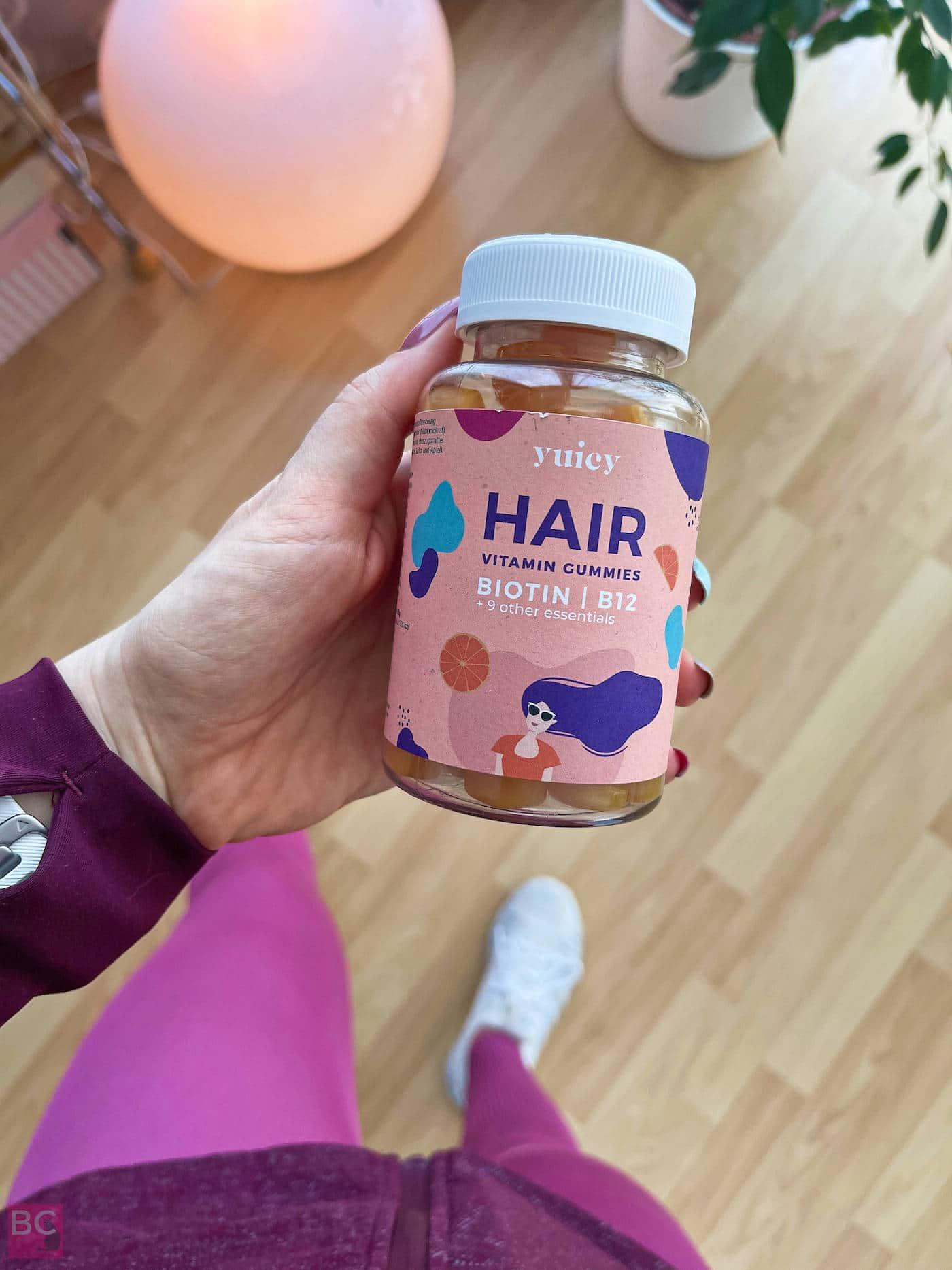 HAIR YUICY Erfahrungen Vitamin Gummies Bewertung Biotin B12