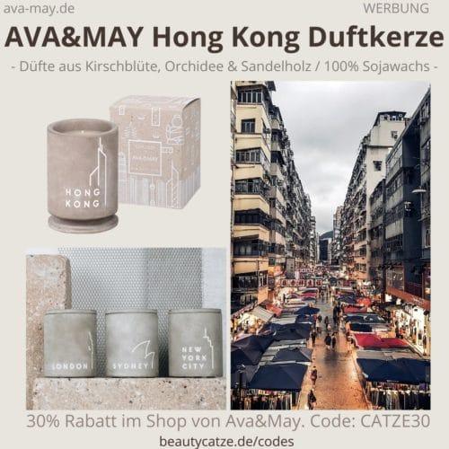 HONG KONG Ava and May Betonkerze Erfahrung Duftkerze