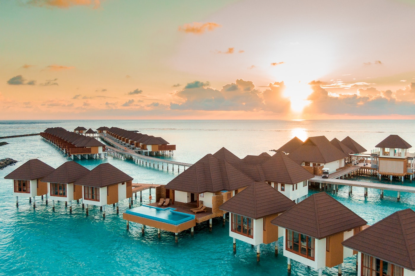 Malediven Strand Traum Urlaubsort Flitterwochen Vibes