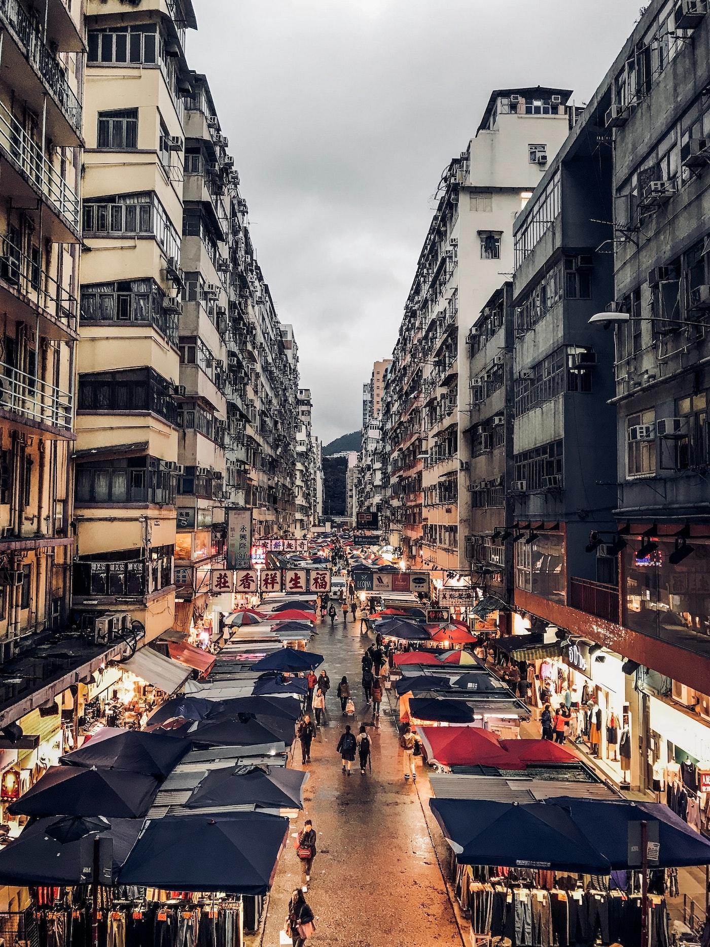 Nachtmarkt HONG KONG Ava and May Betonkerze Erfahrung Duftkerze