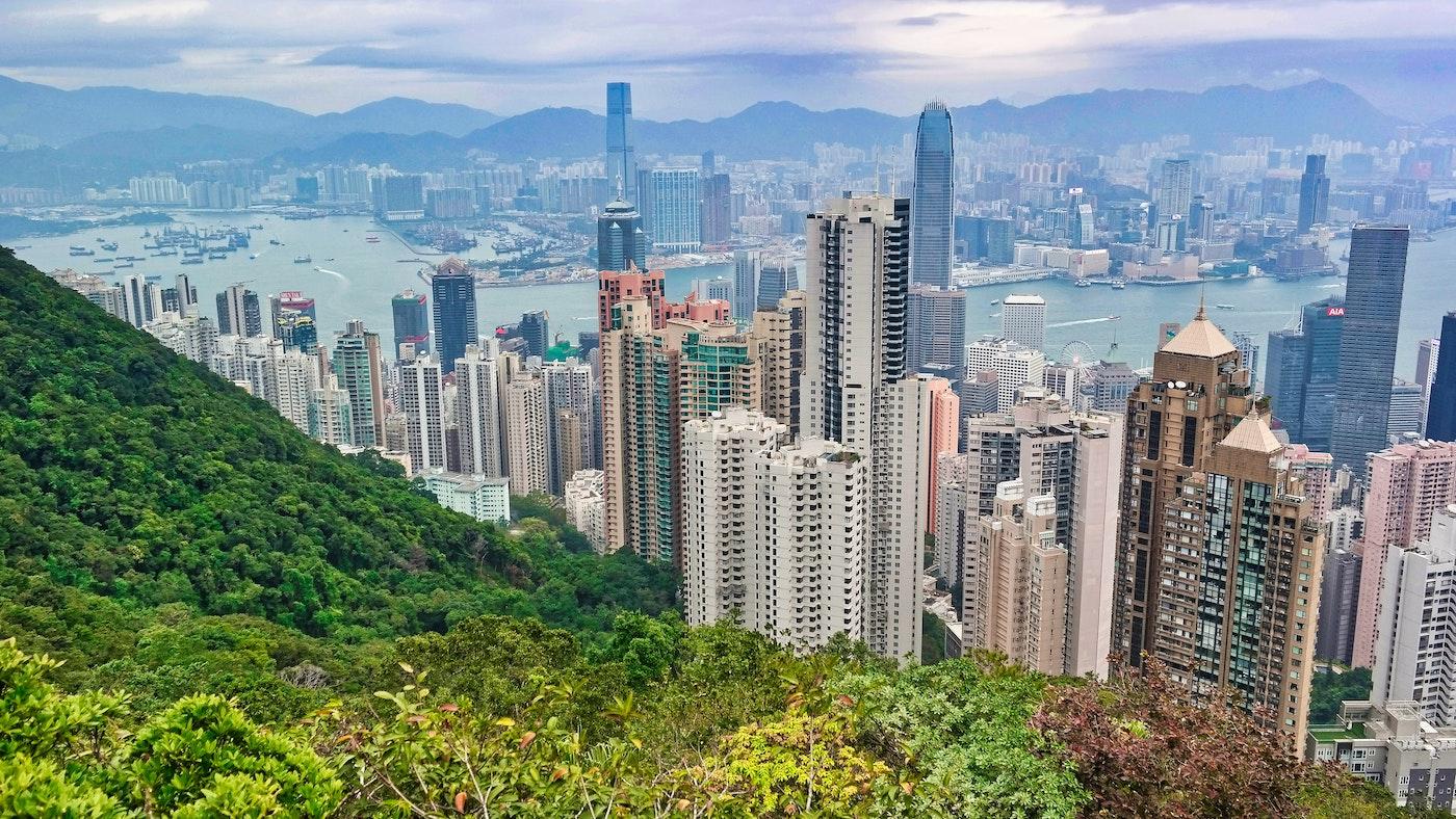 Wolkenkratzer Grün HONG KONG Ava and May Betonkerze Erfahrung Duft
