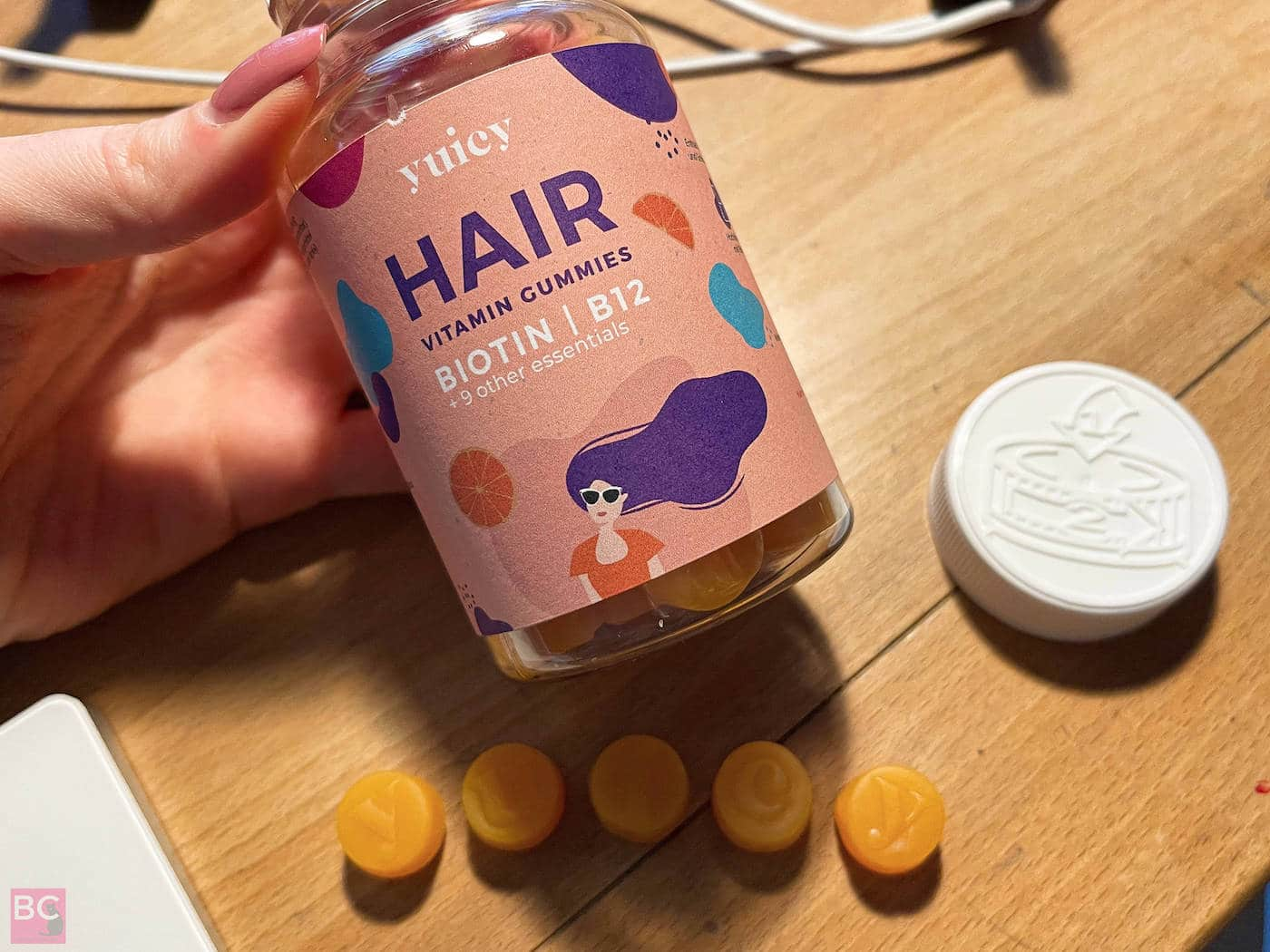 YUICY Vitamingummies Erfahrungen HAARE Hair Vitamin Gums