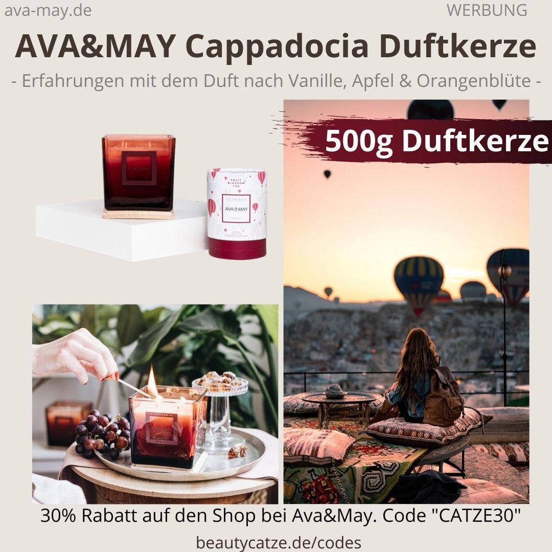 Ava & May CAPPADIOGIA große Duftkerze 500g Erfahrung