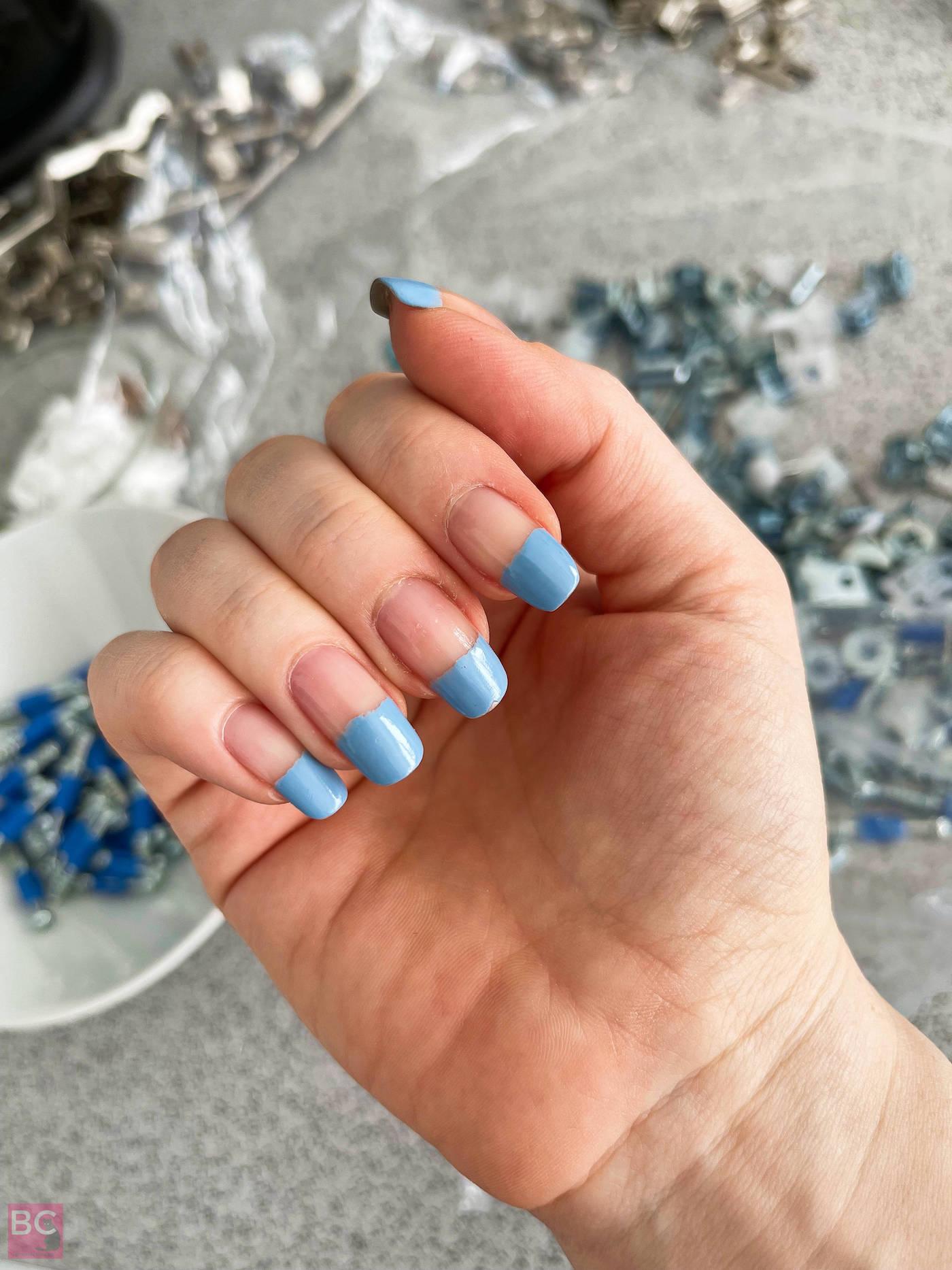 Denim blau 138 von Gitti beim Handwerken