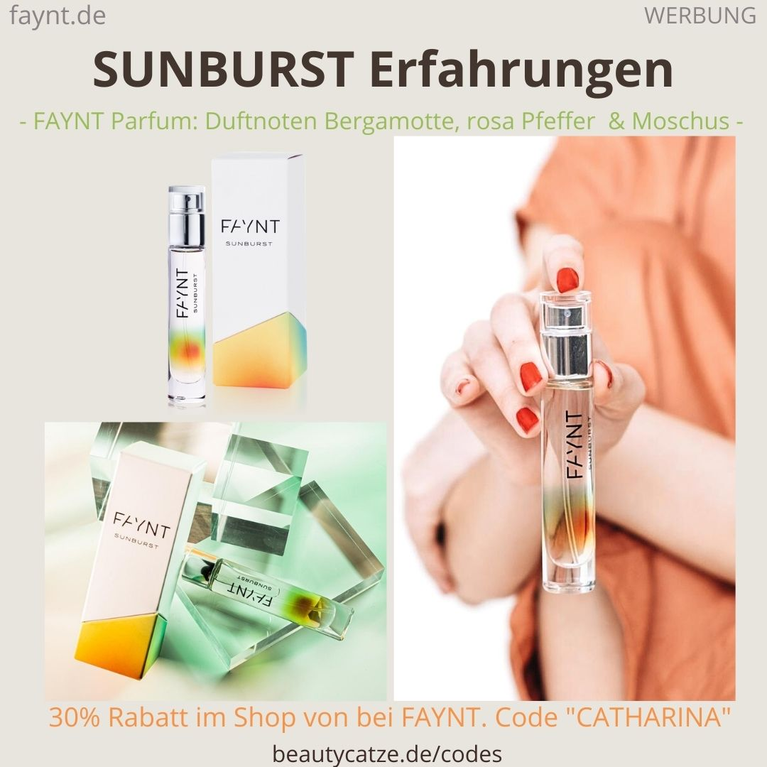 SUNBURST FAYNT ERFAHRUNGEN Parfüm Bewertungen des Duftes