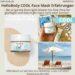 HelloBody COOL Face Mask ERFAHRUNG Test After Sun Gesichtsmaske Hello Body