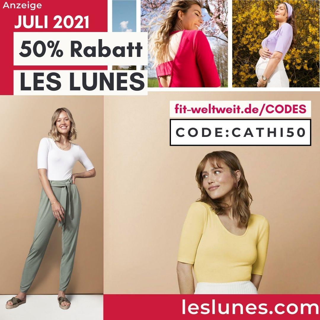 Les Lunes Rabattcode Juli 2021 50% Rabatt Gutschein free Gift 2
