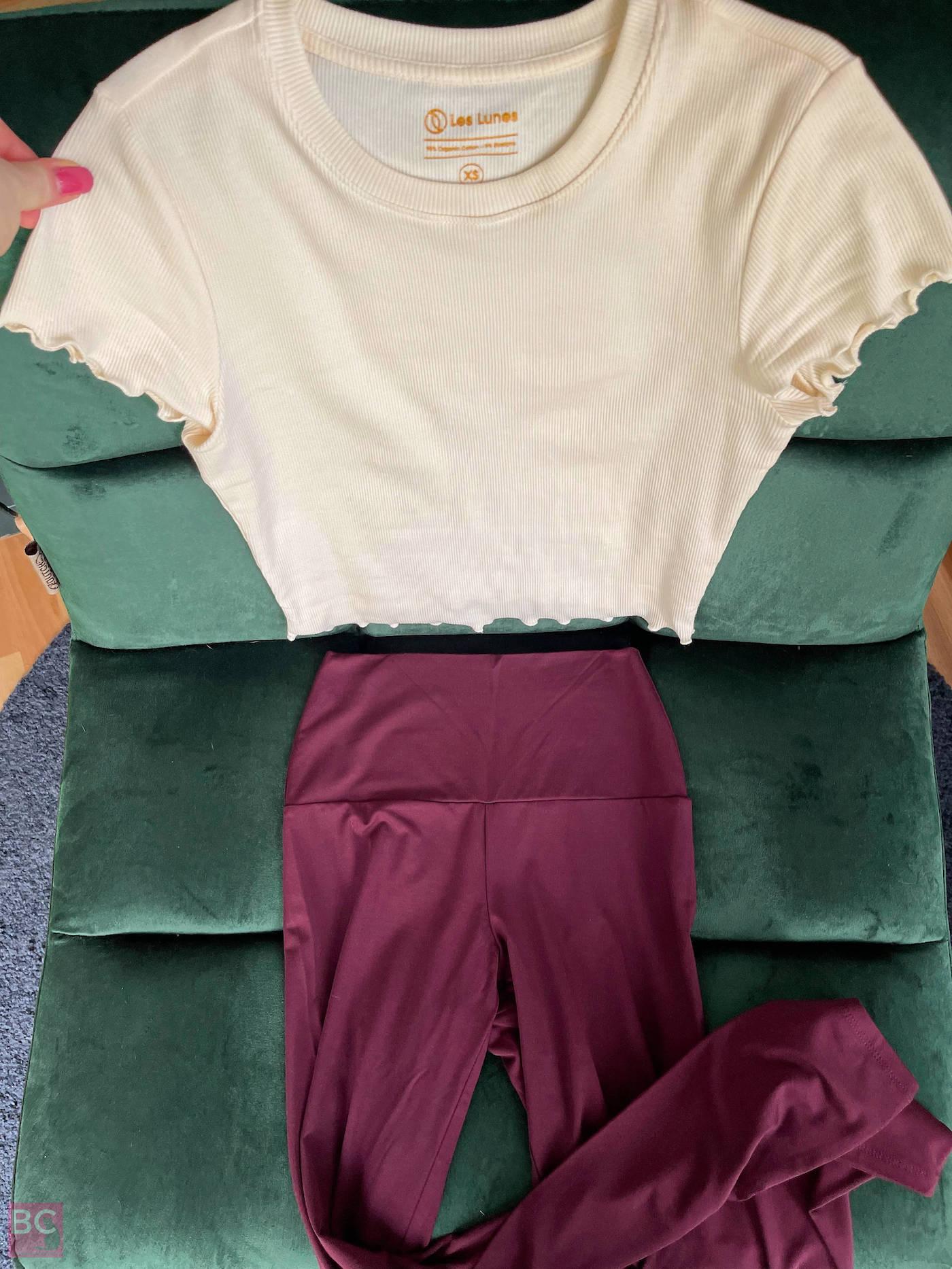 Kombination Apil Shirt und Luna Leggings Les Lunes Luna Leggings Erfahrungen