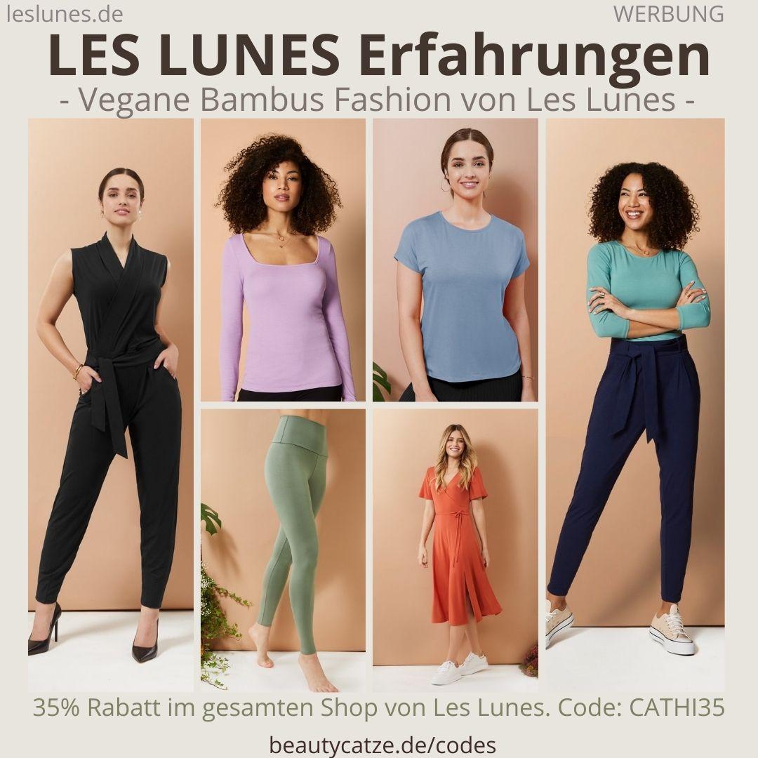 LES LUNES ERFAHRUNGEN Stella Jumpsuit, Abby Longsleeve, Mia Shirt, Jade Pants, Charlotte Bodysuit, Ava Kleid und Luna Leggings