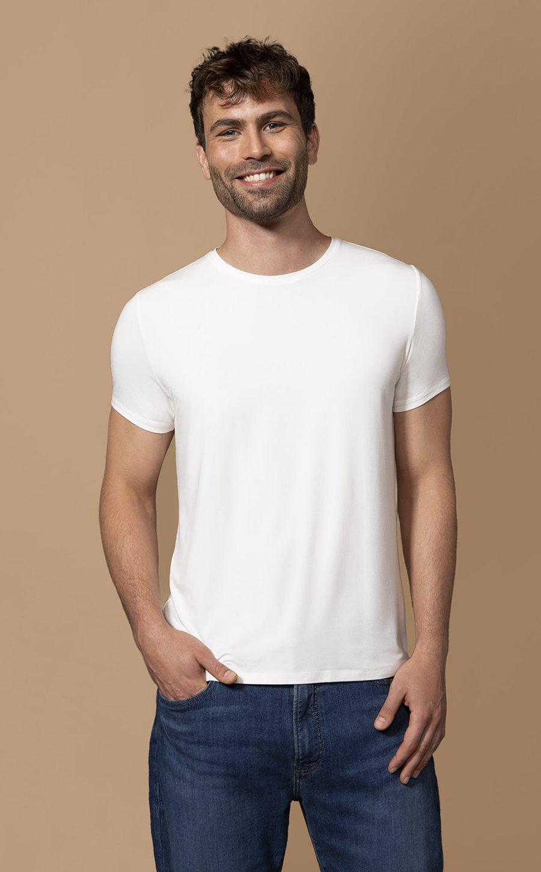 Männer Sachen Les Lunes The Rob T-Shirt ErfahrungenStoff Passform