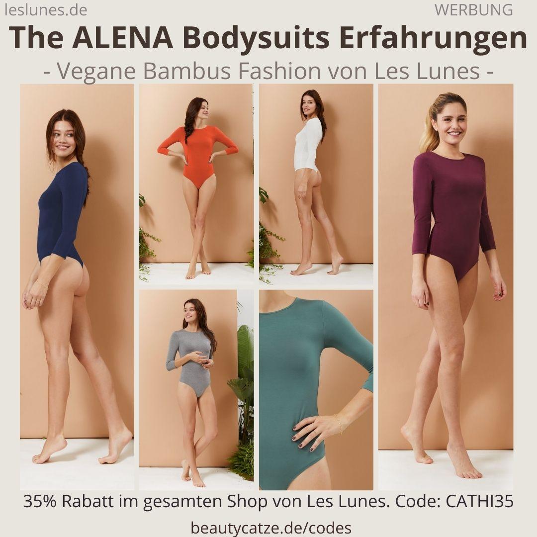 The ALENA BODYSUIT Body Einteiler langärmelig Les Lunes Erfahrungen Größe Stoff