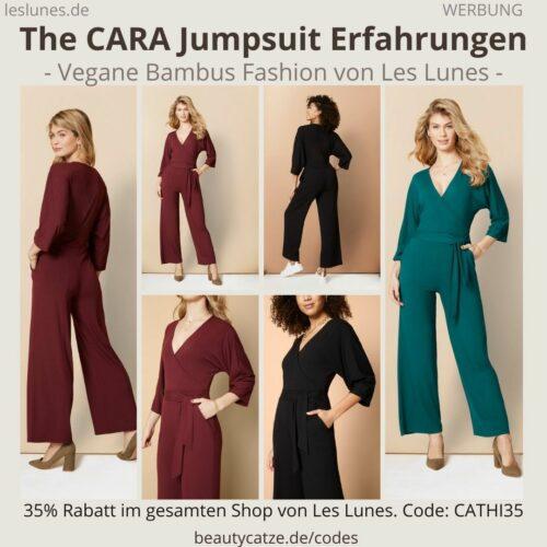 The CARA JUMPSUIT Einteiler Overall Les Lunes Erfahrungen Größe Stoff
