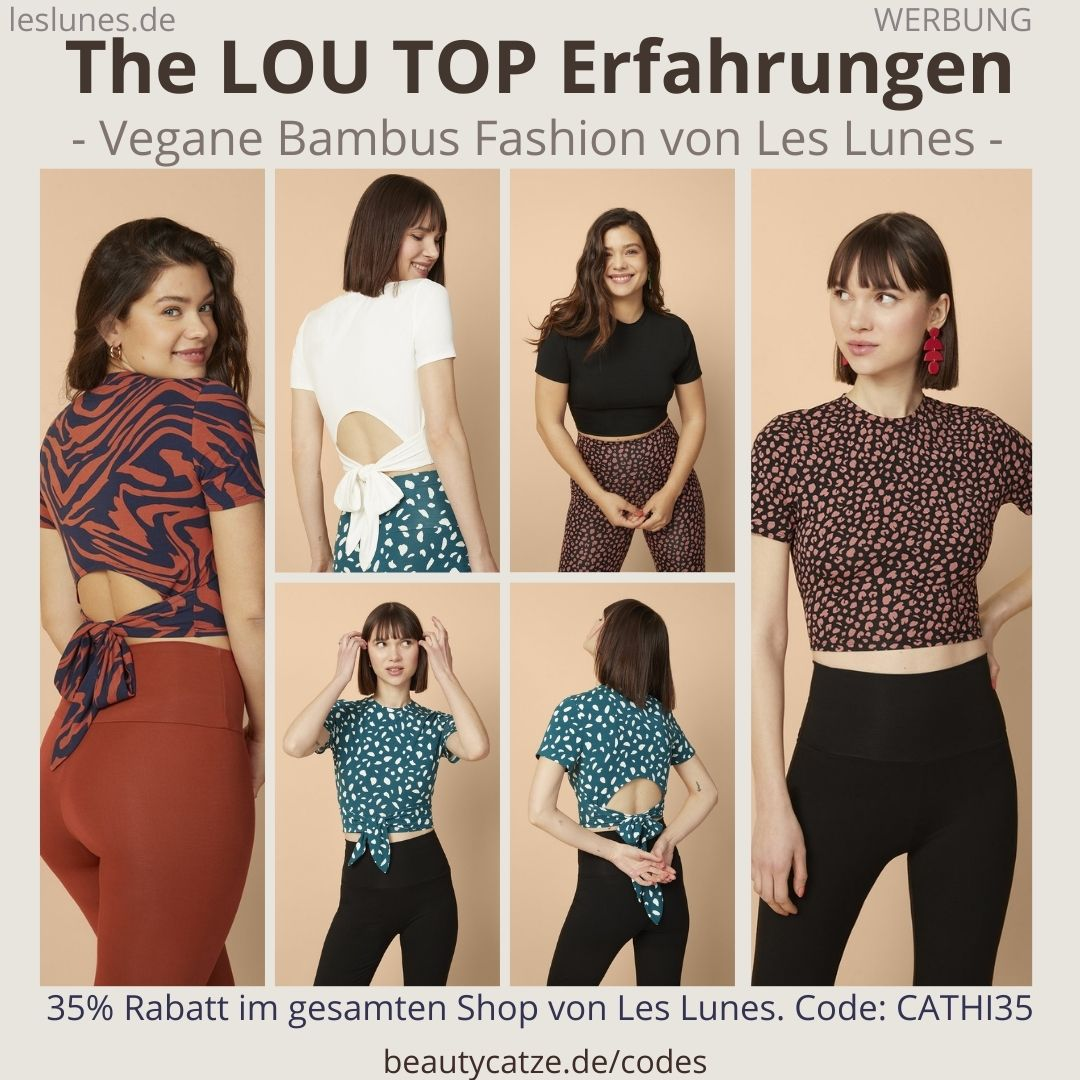 The LOU TOP Oberteil TShirt Les Lunes Erfahrungen Größe Stoff