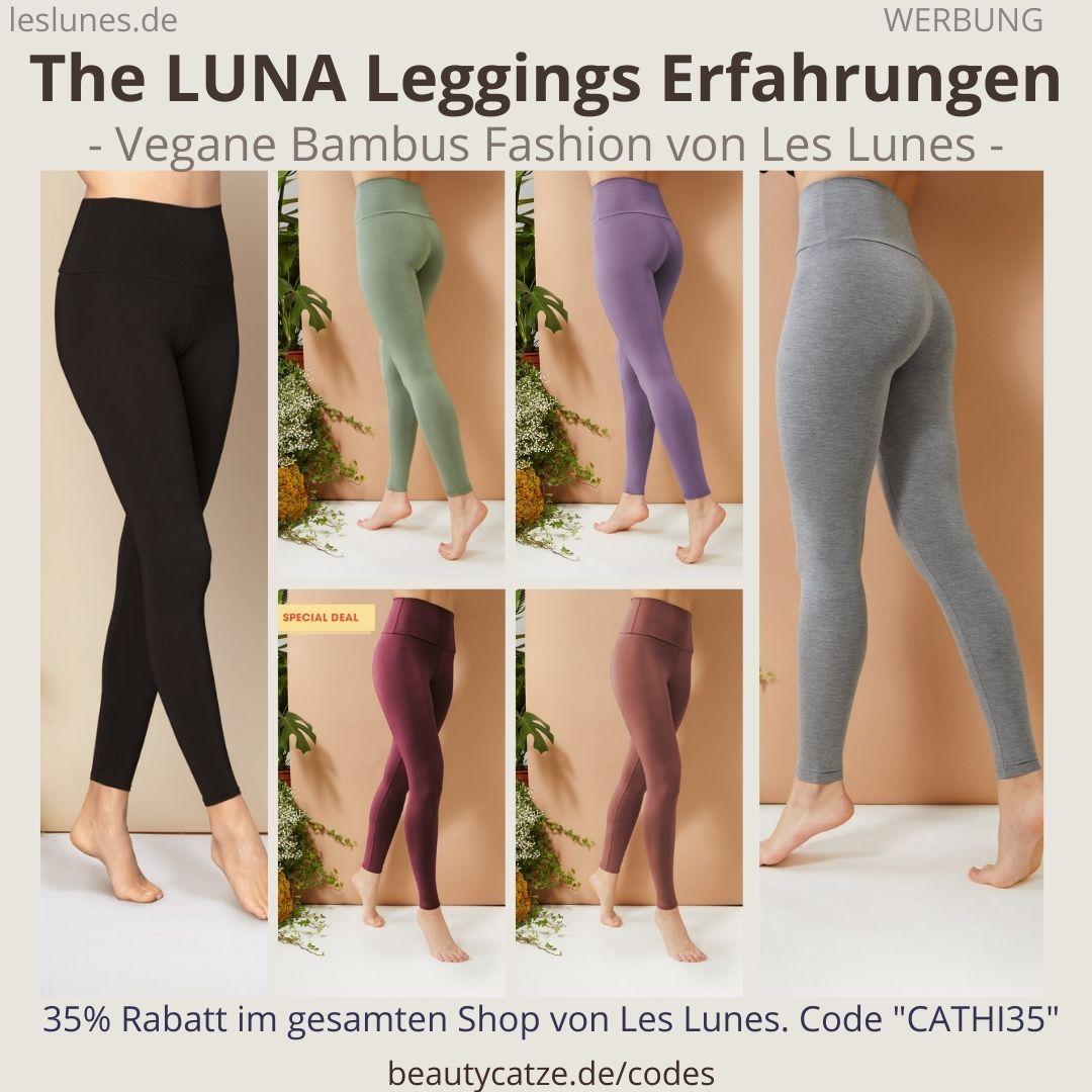 The LUNA LEGGINGS Hose Pants Les Lunes Erfahrungen Größe blickdichter Stoff