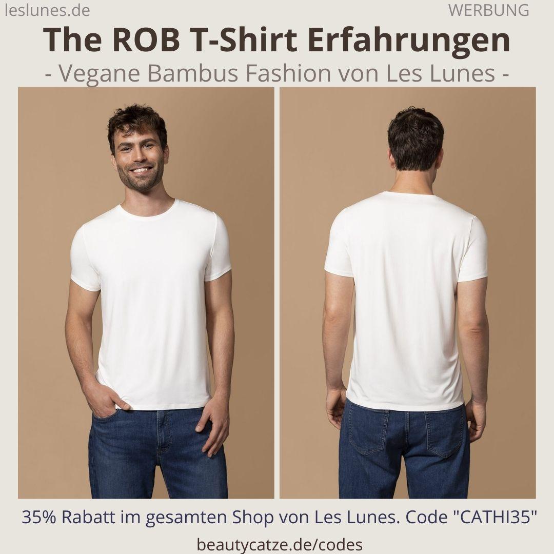 The ROB Shirt Erfahrugnen LES LUNES vegane Kleidung Männer