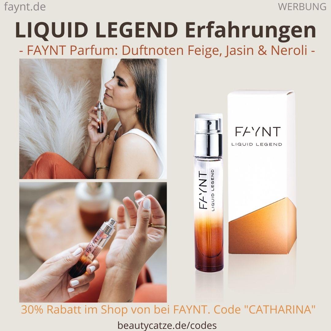 LIQUID LEGEND Parfüm FAYNT Erfahrungen Duftnoten Parfum Bewertung ava&may