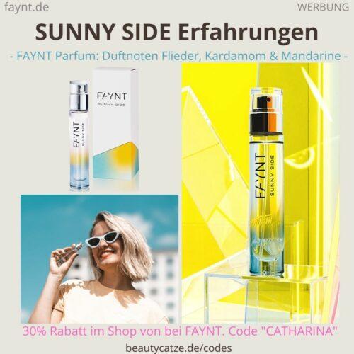 SUNNY SIDE Parfüm FAYNT Erfahrungen Duftnoten Parfum Bewertung ava&may
