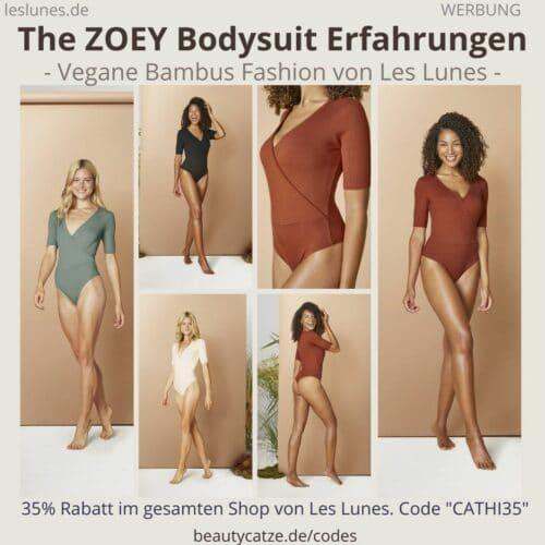 The ZOEY BODYSUIT Erfahrungen Les Lunes Oberteil Einteiler Body