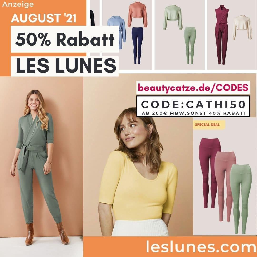 Les Lunes 50% Rabattcode September 2021 40% Rabatt