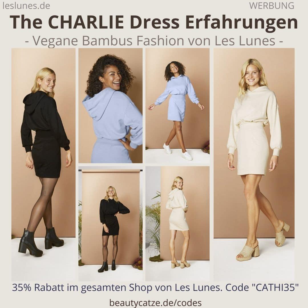 THE CHARLIE DRESS Les Lunes Erfahrung HOODIE KLEID im Test Größe Bewertungen