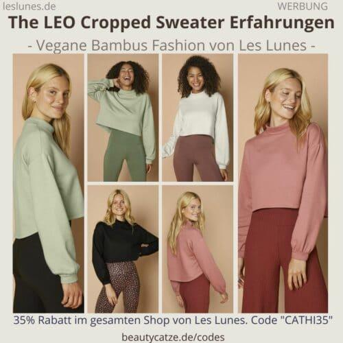 THE LEO CROPPED SWEATER Les Lunes Erfahrung Sweatshirt im Test Größe Bewertungen